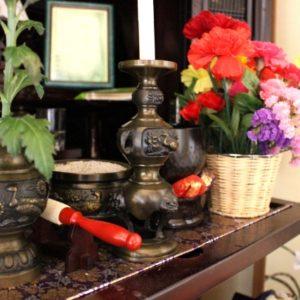 回忌法要を行う仏壇
