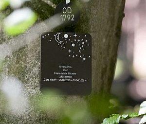 森のお墓,墓標