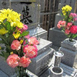 仏花,お墓参り