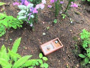 焼香炉,樹木葬