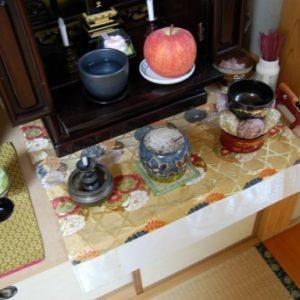 仏壇のお参り方法,樹木葬