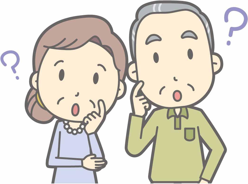 お墓の購入時期に悩んでいる老夫婦