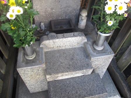 墓石,カロート